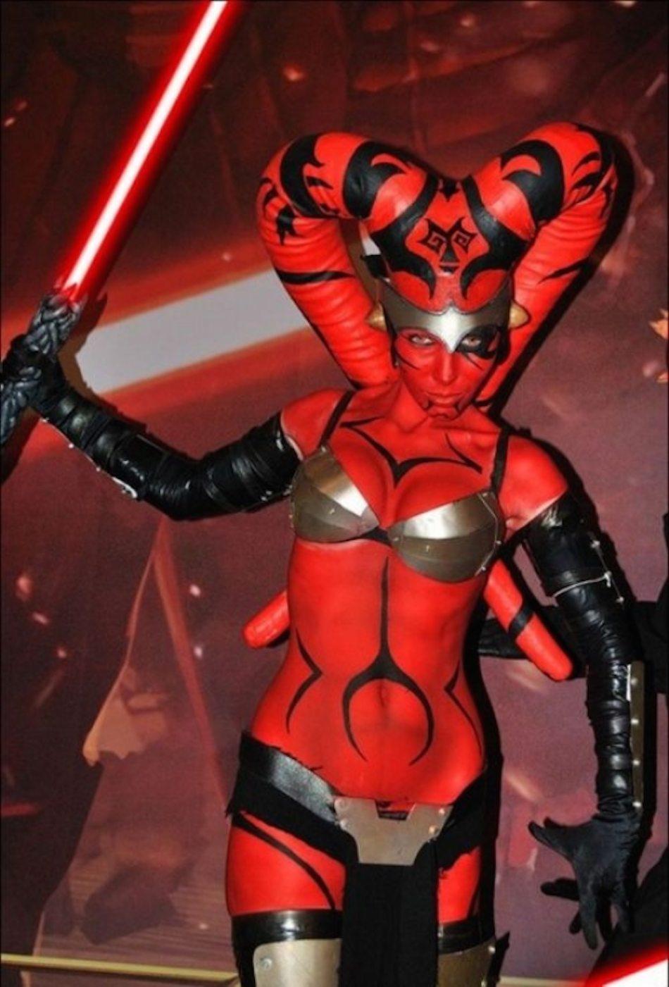 SW sexy cosplay