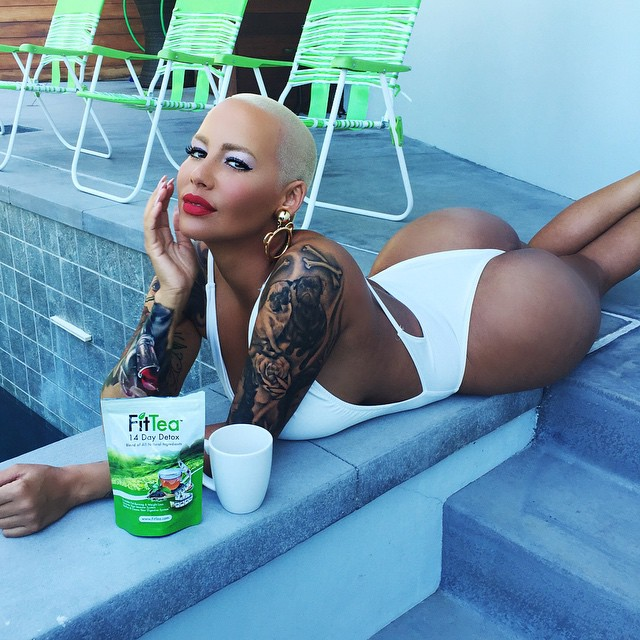 amber rose fessiers