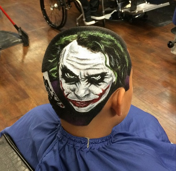 Rob Ferrel Cheveux Joker