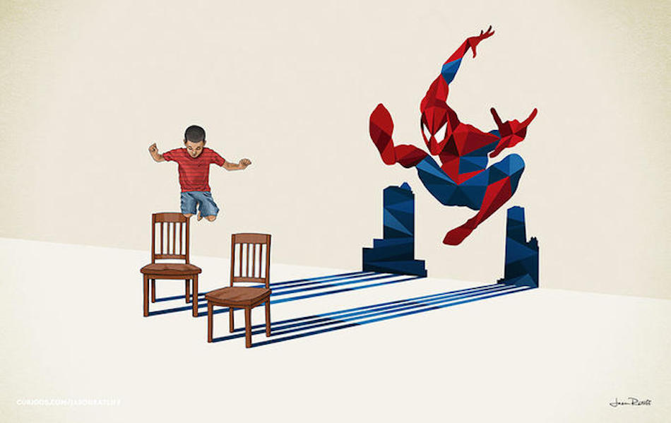 Super heros enfants